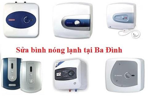 sửa bình nóng lạnh tại quận Ba Đình