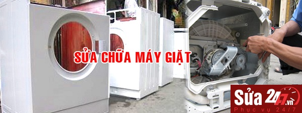 sửa máy giặt tại Ba Đình uy tín, chất lượng