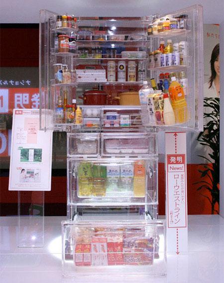 """Ngắm 12 mẫu tủ lạnh có thiết kế """"độc và  lạ"""" nhất hiện nay"""