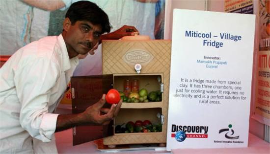 Mitticool: Tủ lạnh đất sét của dân nghèo Ấn Độ