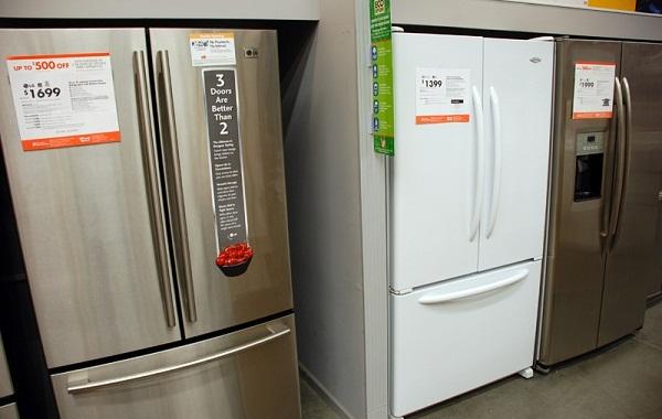 Sự khác nhau giữa tủ lạnh cửa kiểu Pháp 1