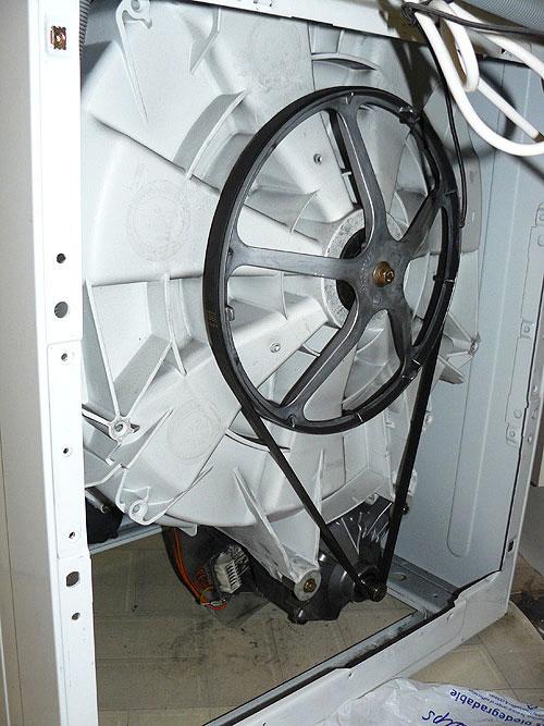 Thay dây curoa cho máy giặt