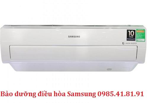 Tự bảo dưỡng điều hòa Samsung tại nhà