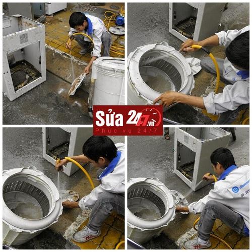 Dịch vụ bảo dưỡng, vệ sinh máy giặt tại nhà Hà Nội
