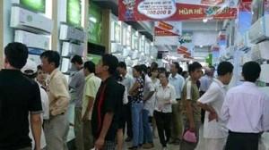 Sức nóng lại đua tranh cùng sức mua máy điều hòa tại các siêu thị điện máy
