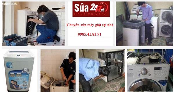 địa chỉ sửa máy giặt tại nhà uy tín, giá rẻ
