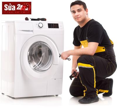 sửa máy giặt xả nước liên tục tại Đống Đa