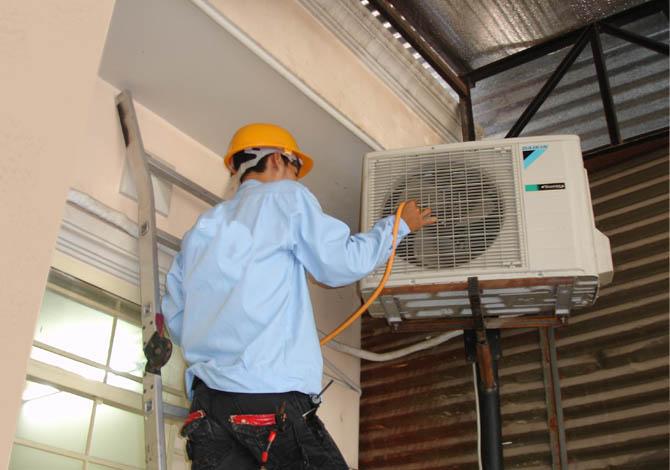 Sửa điều hòa, bảo dưỡng điều hòa tại nhà Hà Nội 1