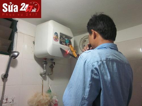 sửa bình nóng lạnh tại Đống Đa