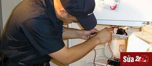 Sửa tủ lạnh, sửa tủ lạnh quạt gió tại nhà Hà Nội