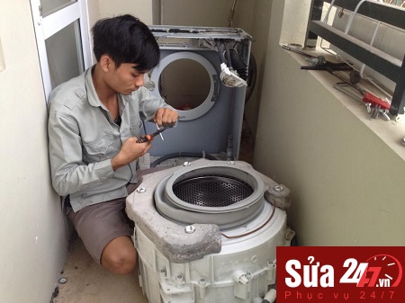 Chuyên bảo dưỡng, bảo trì máy giặt tận nơi tại Hà Nội 1