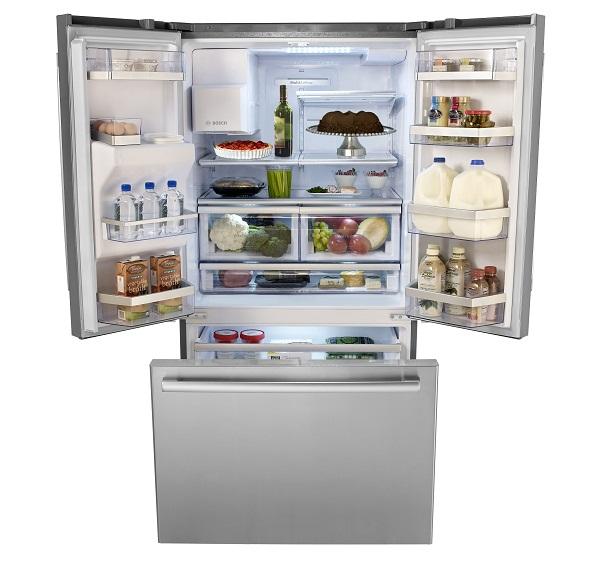 Sự khác nhau giữa tủ lạnh cửa kiểu Pháp