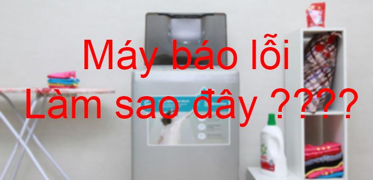 Ý nghĩa mã lỗi máy giặt Toshiba, LG, Sanyo thường gặp